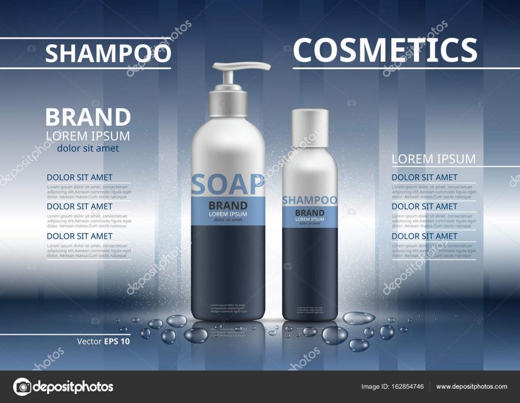 Gereki Ie Ampuan Ve Sabun Mockup 3d Izim Kozmetik Paket Reklamlar Ablon Parlak Arka Plan Rengi Inagraurymailcom Vektr