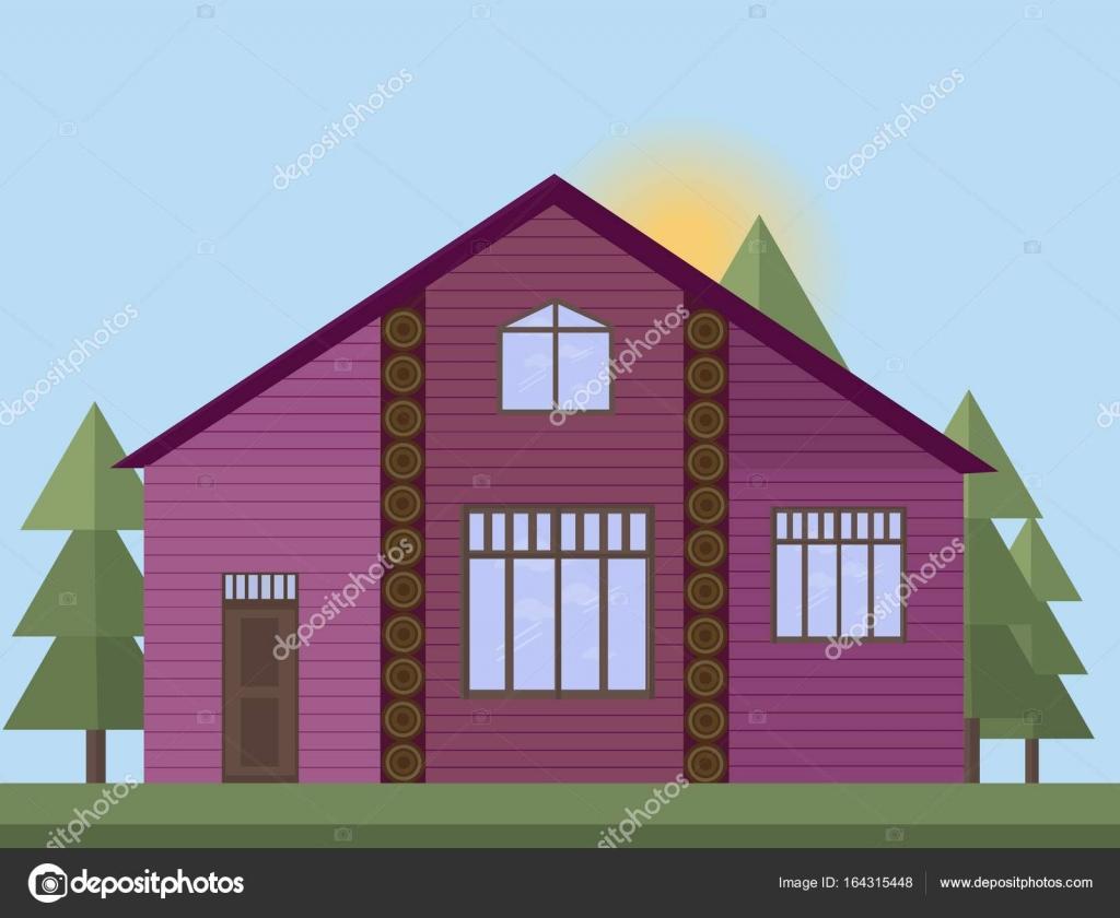 Casas de madera pintadas - Casas de madera pintadas ...