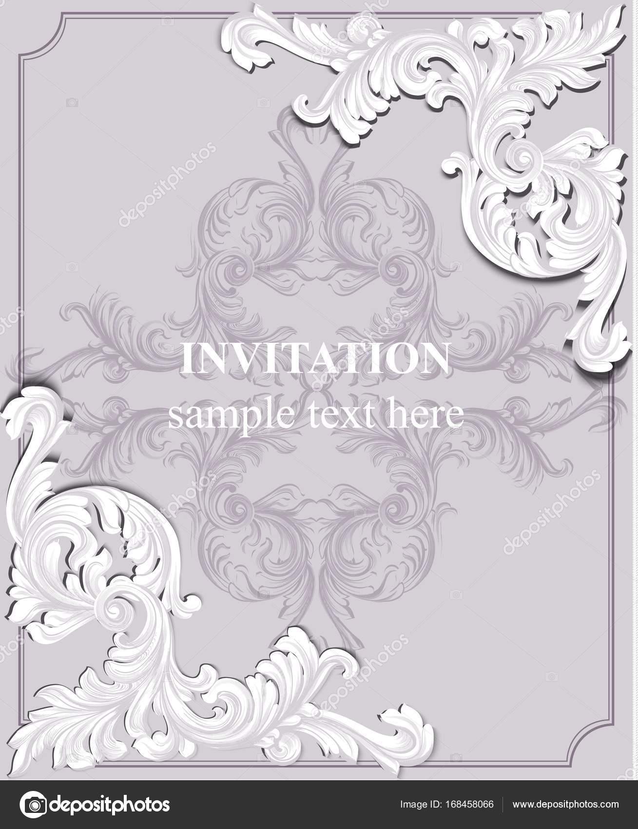 Carto de convite de luxo vector ornamento de royal victorian carto de convite de luxo vector ornamento de royal victorian padro ricos fundos rococ stopboris Gallery