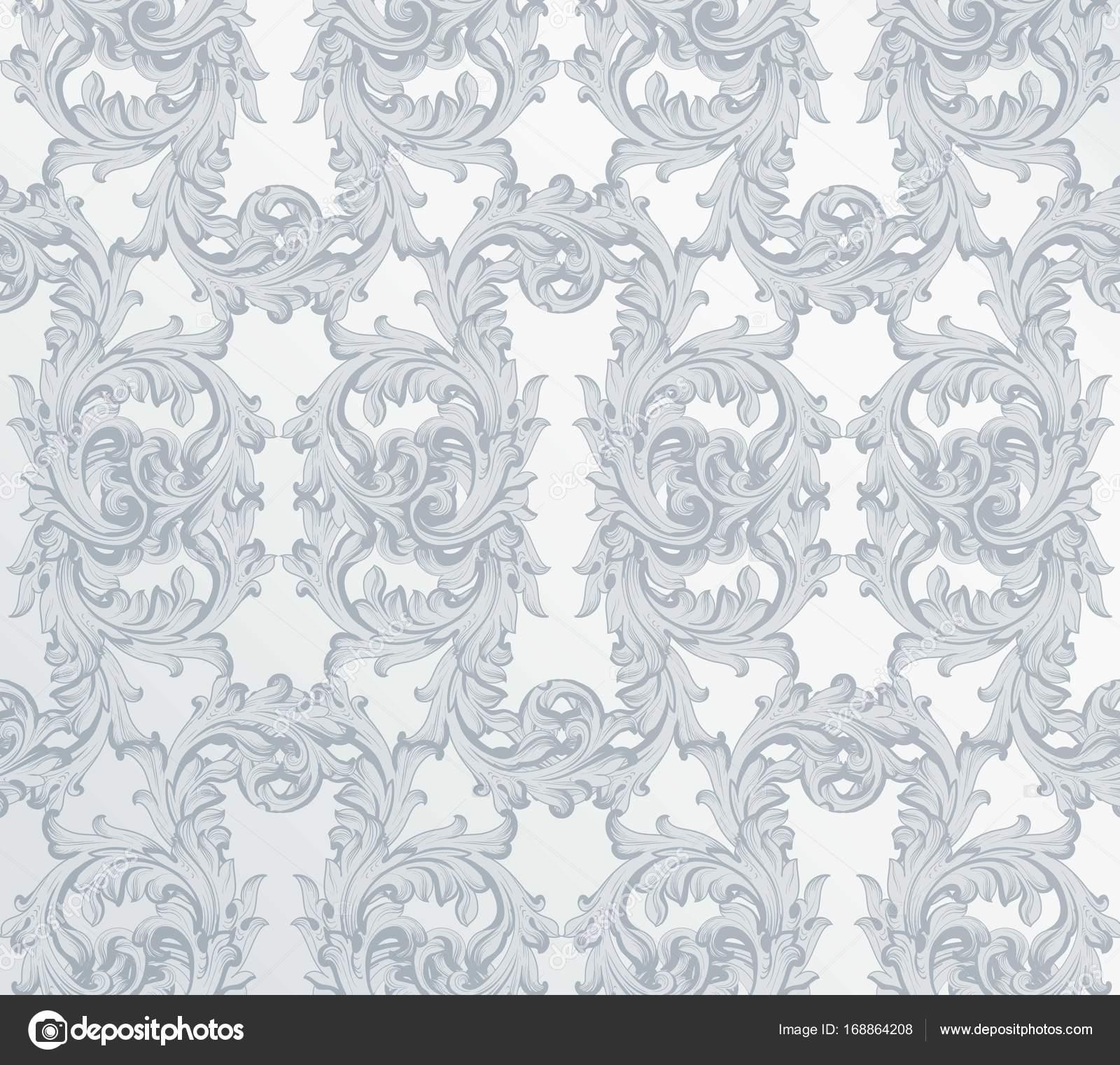 Luxus Muster Hintergrund Vektor. Königlichen viktorianischen Schmuck ...