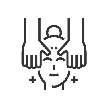 Spa and facials icon
