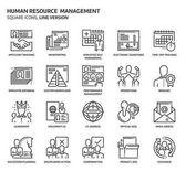 Fényképek Emberi erőforrás tér ikonkészlet