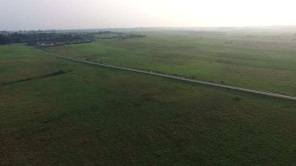 Flight Over Beautiful Landscape