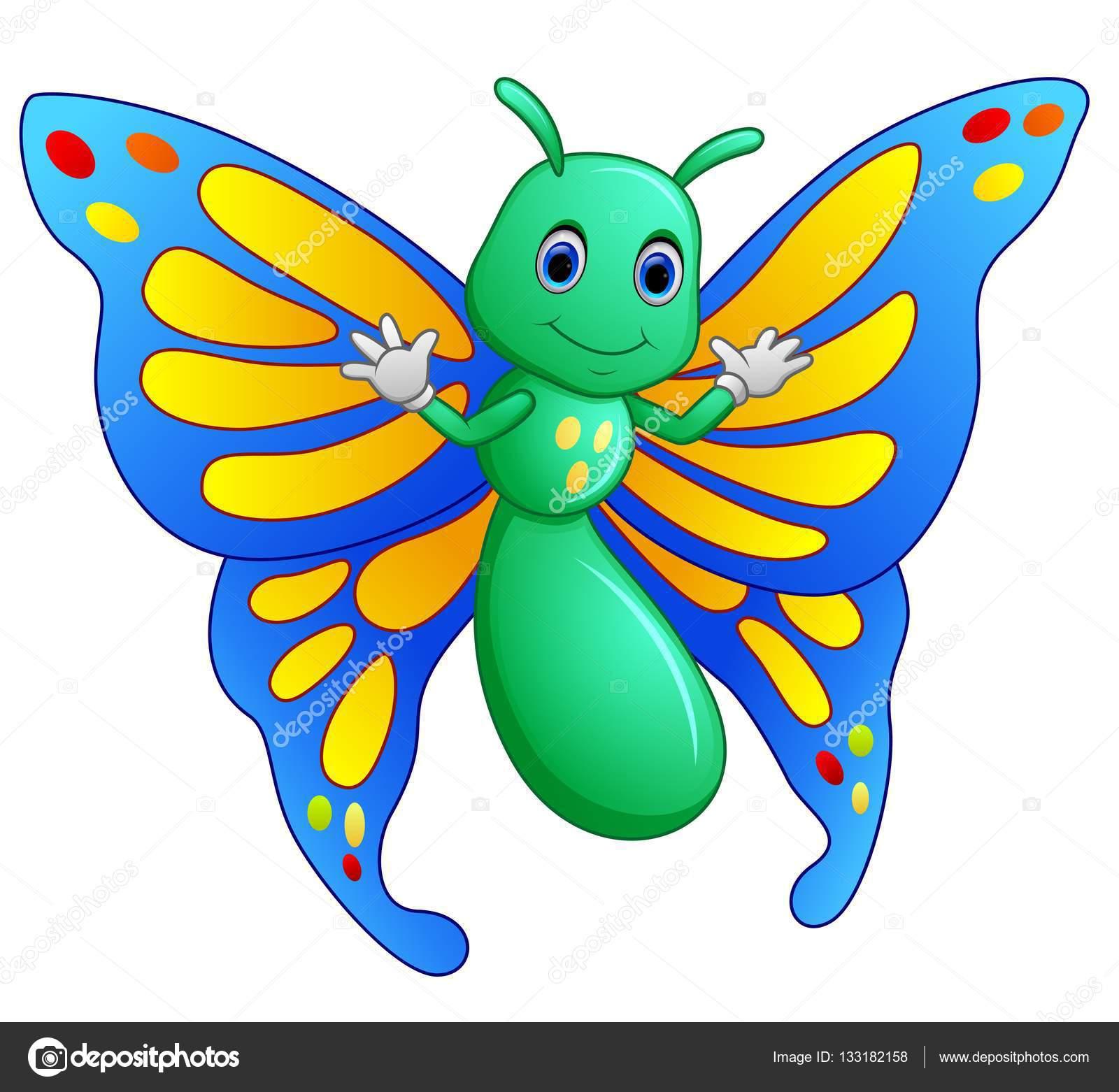 cute butterfly cartoon � stock vector 169 dualoro 133182158