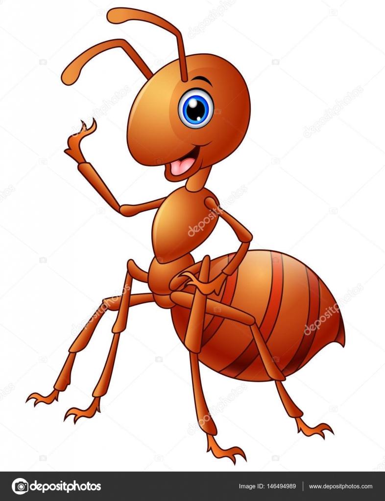 dibujos animados de la hormiga feliz vector de stock ant clip art cute ant clip art with ants