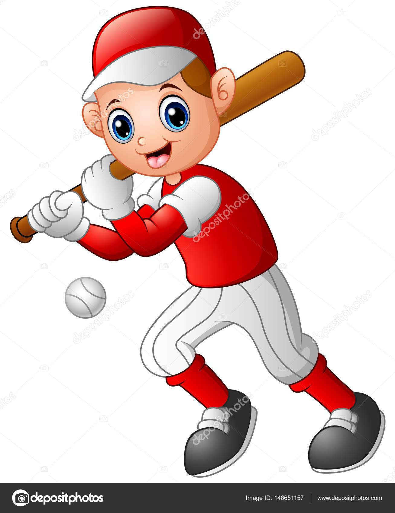 Imagenes De Beisbol Animadas Ni 241 O De Dibujos Animados