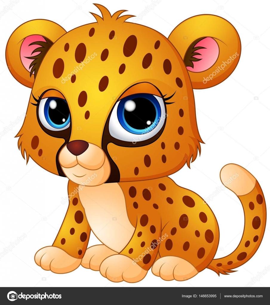 dibujos animados de guepardos beb u00e9 lindo vector de stock cheetah clipart black and white cheetah clipart for kids
