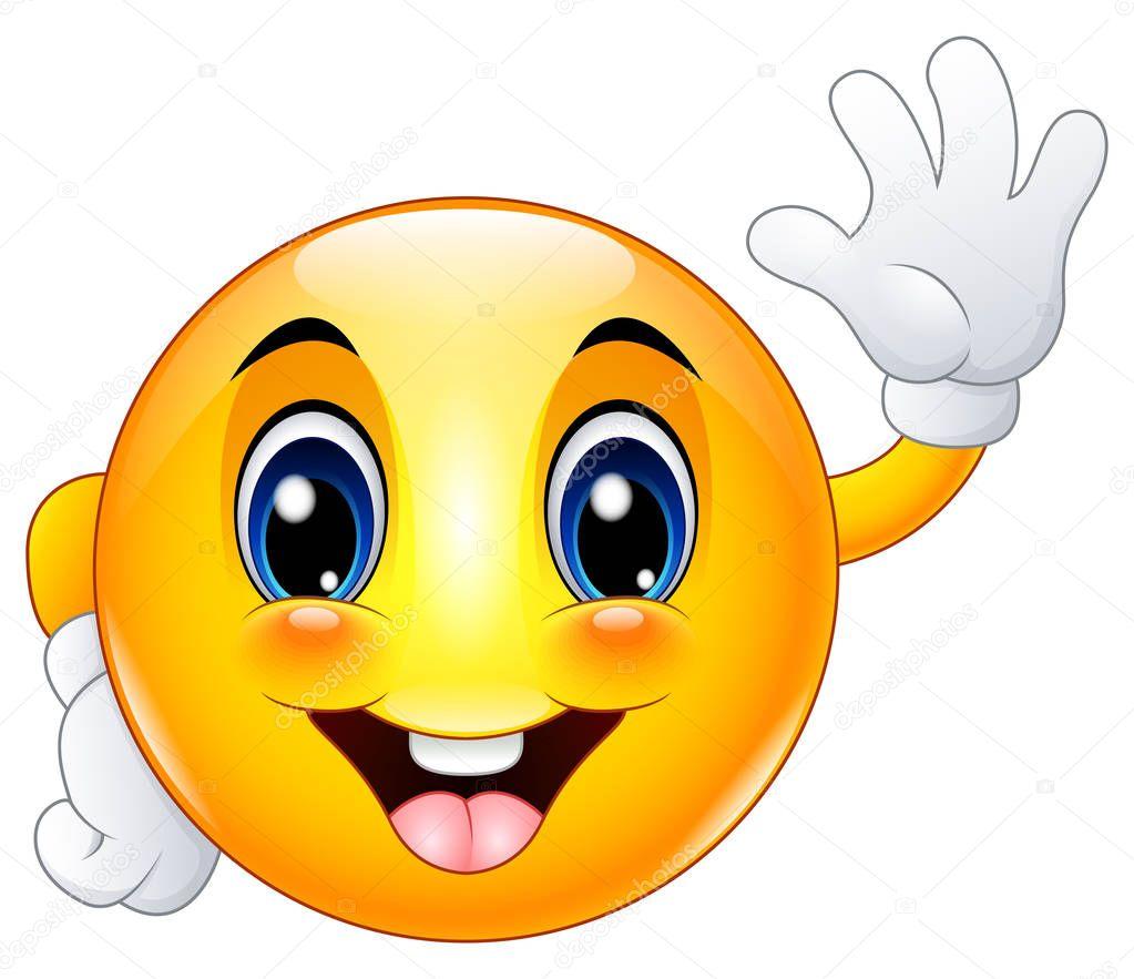 Imágenes: emoticon sonriente | Hola saludando de