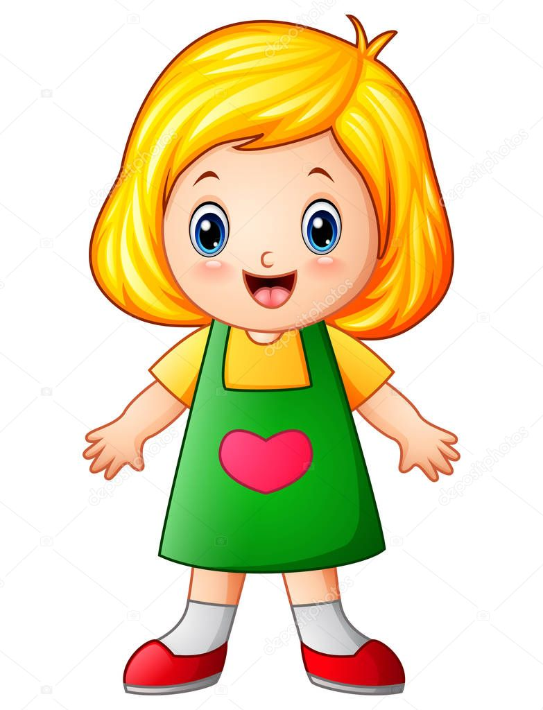 Images: cute little girl cartoon | Cute little girl ...