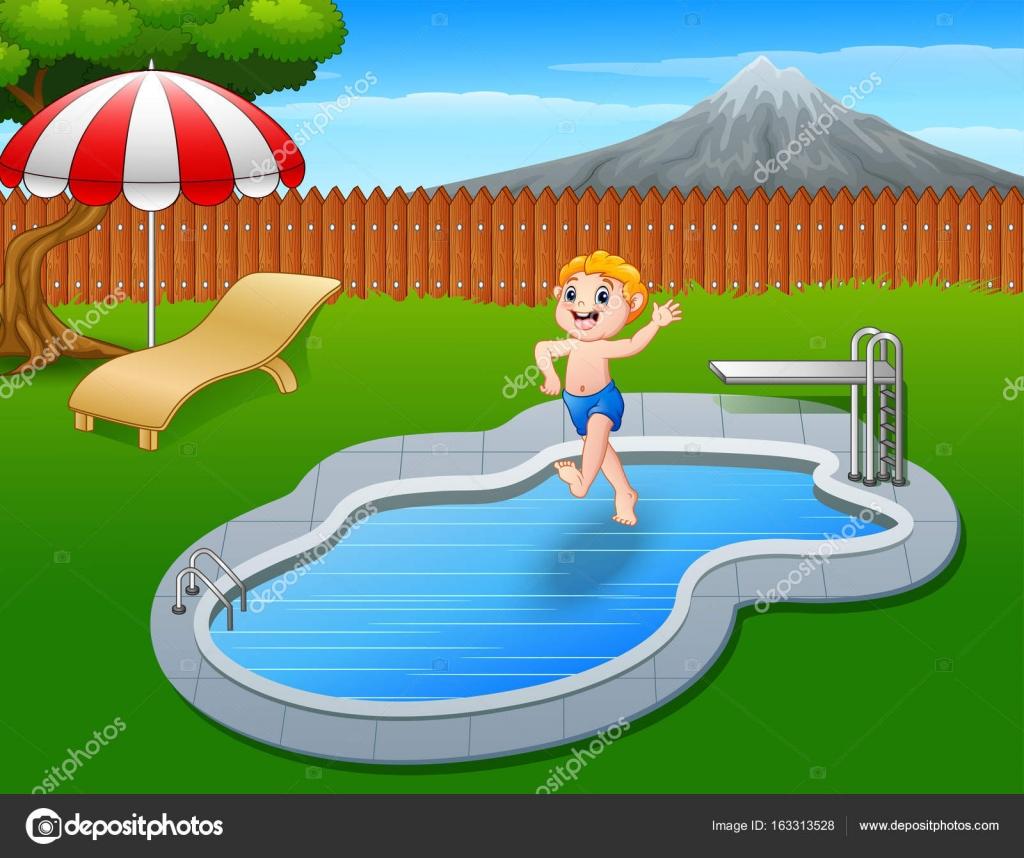 Cartoon swimming pool images fandifavi