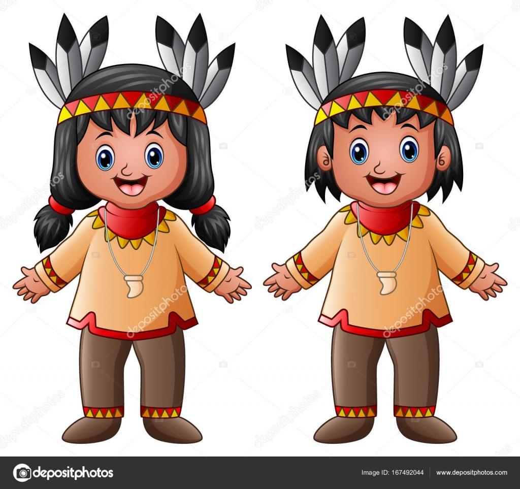 Картинка индеец