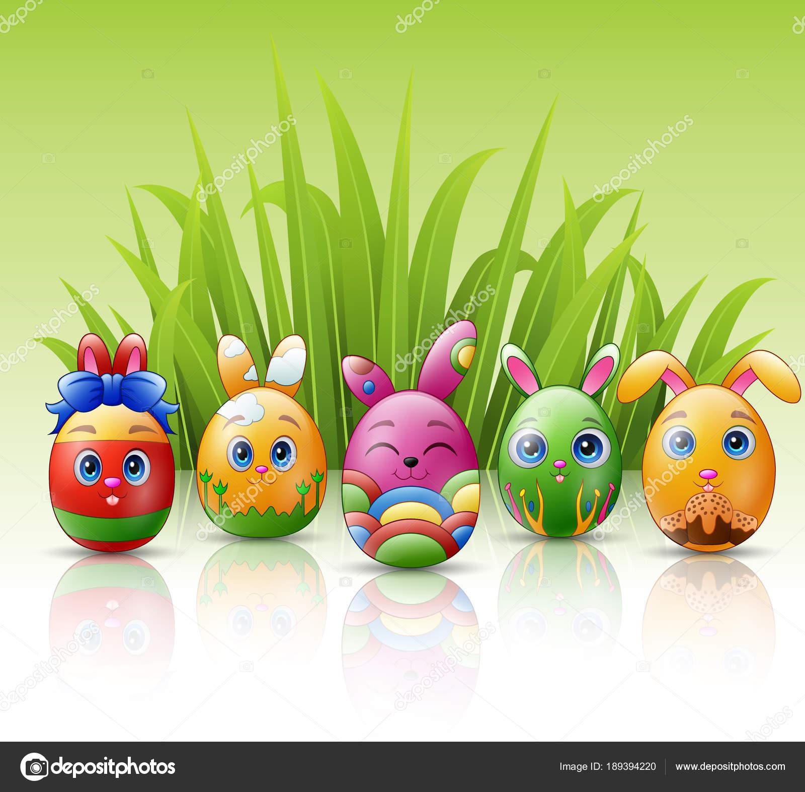 Le gif con coniglietti pasquali immagini animate che