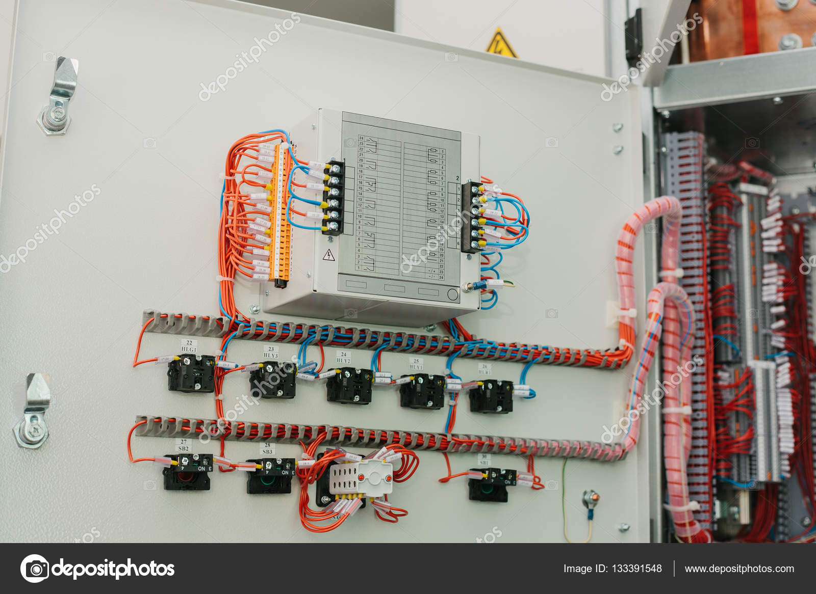 Low Voltage Cabinet Uninterrupted Power Electrical Stock Home Wiring Photo