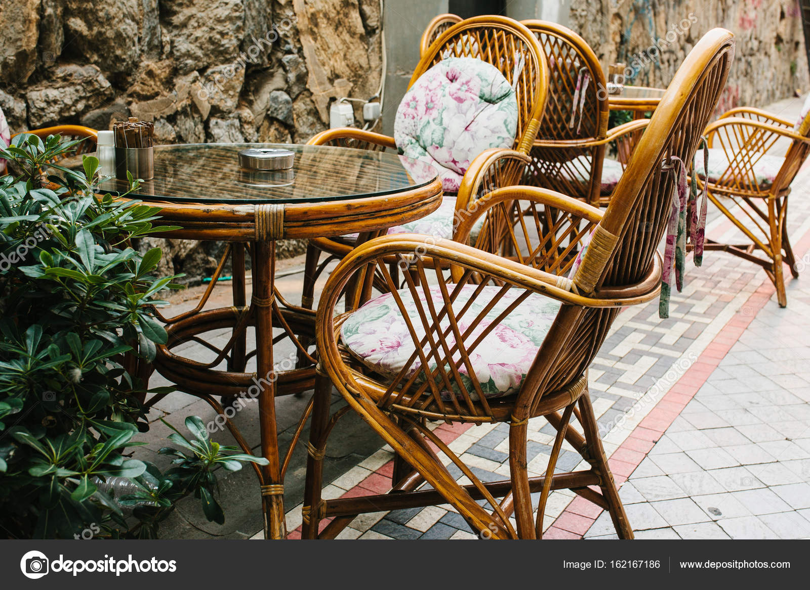 Cozy street cafe in Istanbul Turkey. Chairs and table. u2014 Photo by inf.franz.gmail.com & Cozy street cafe in Istanbul Turkey. Chairs table. u2014 Stock Photo ...