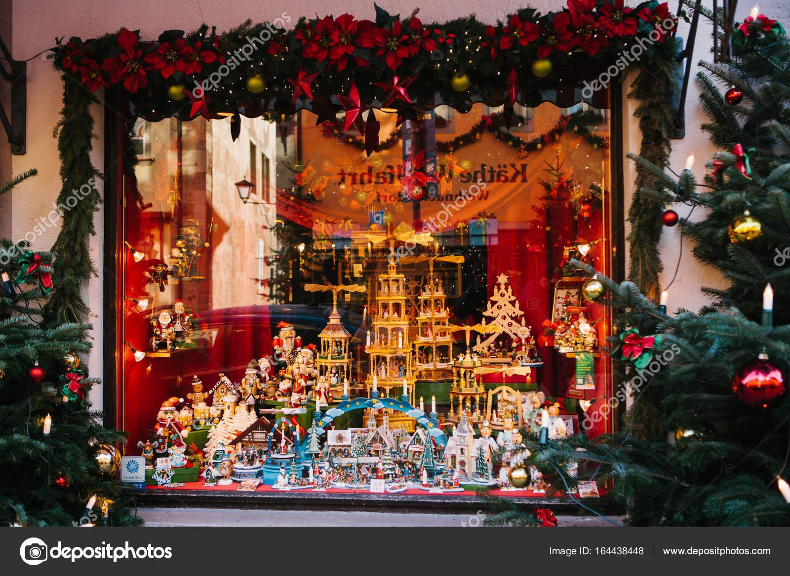 Germany rothenburg ob der tauber december 30 2017 for Salon xmas decorations