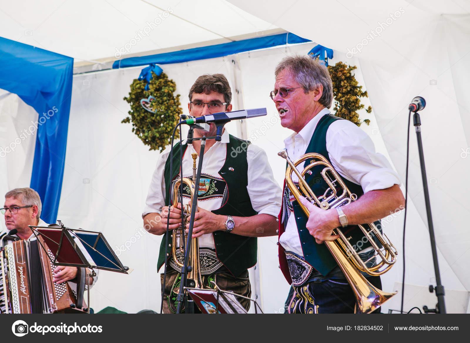 Prague, September 23, 2017: Celebrating the traditional