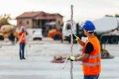 Inspektoři práce na staveništi