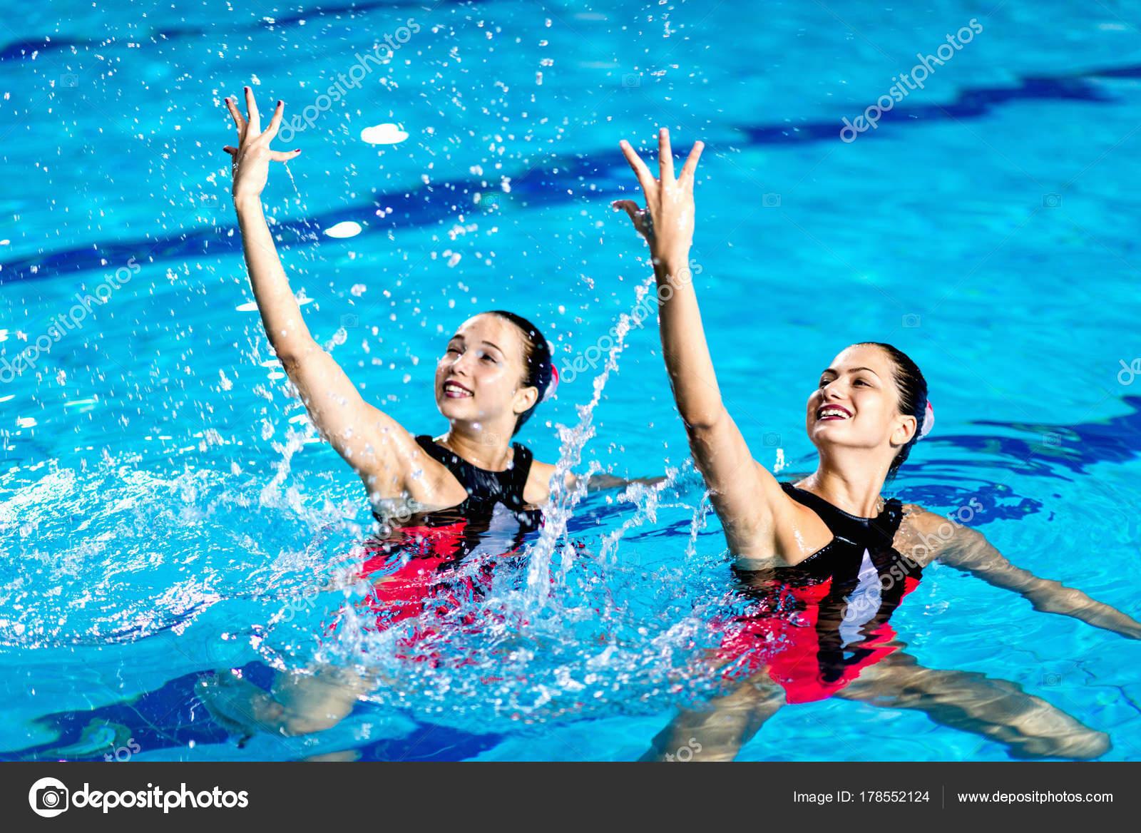 Синхронное плавание сексуально