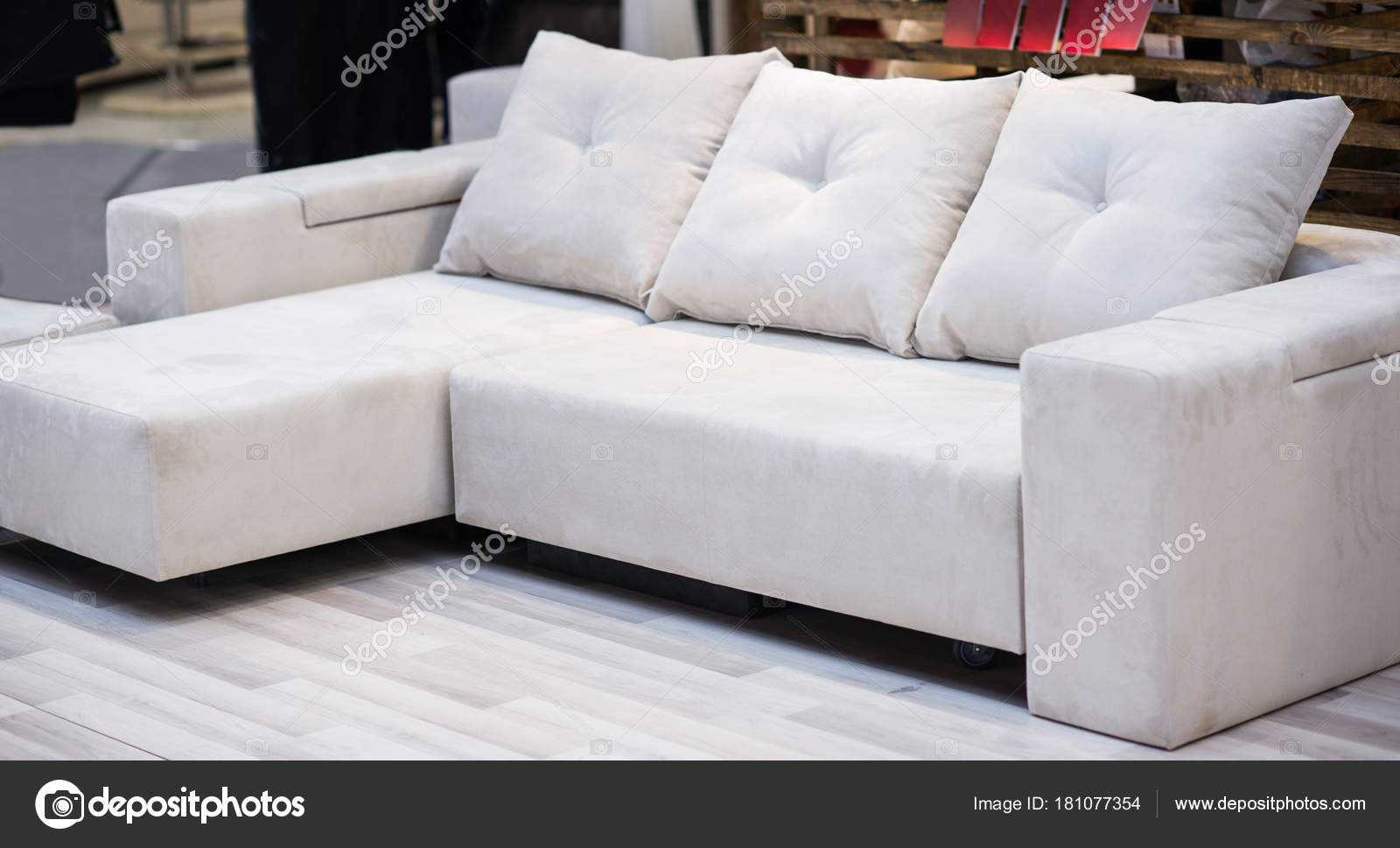 Miraculous White Sofa Pillows Store Stock Photo C Microgen 181077354 Squirreltailoven Fun Painted Chair Ideas Images Squirreltailovenorg