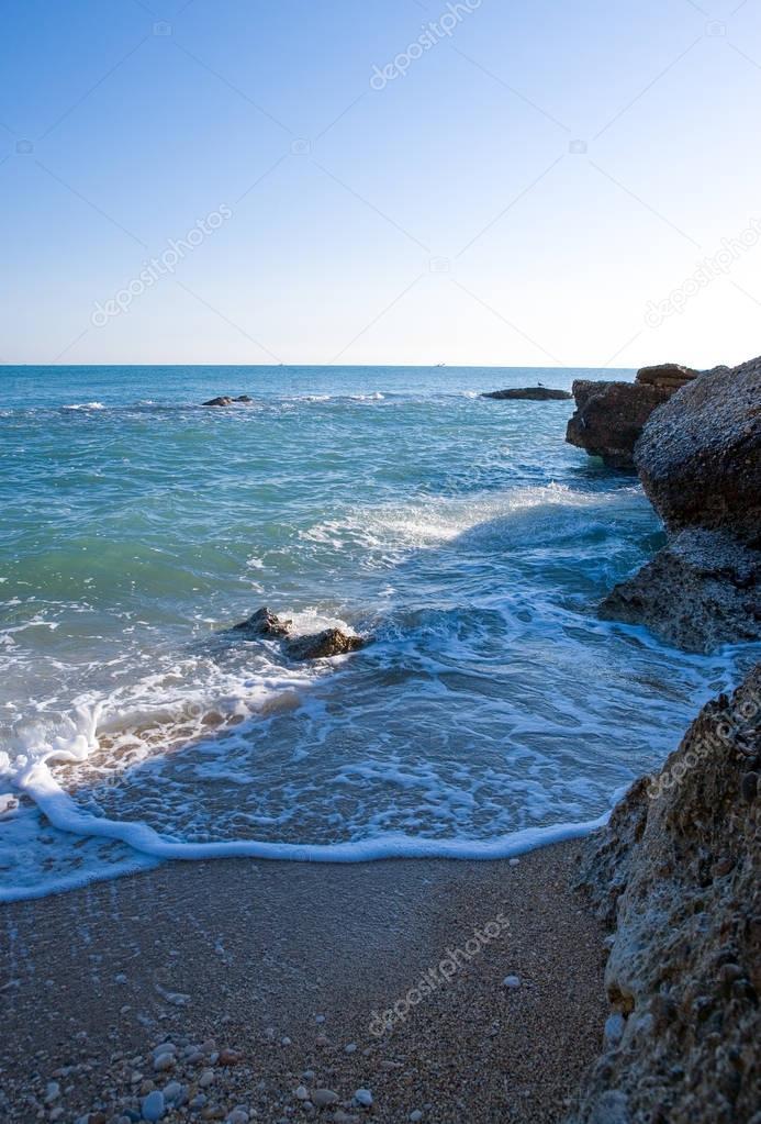 The Adriatic coast