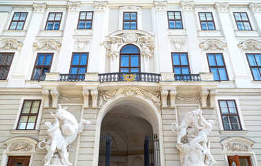 The beautiful Viennese architectures