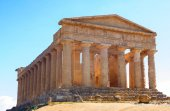 Photo The beauty of art and nature of the Agrigento province