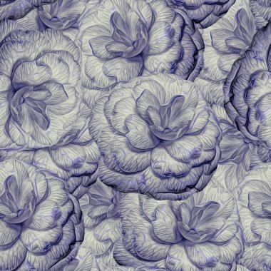 Seamless pattern with flowers. Pattern for print, advertising, web design.