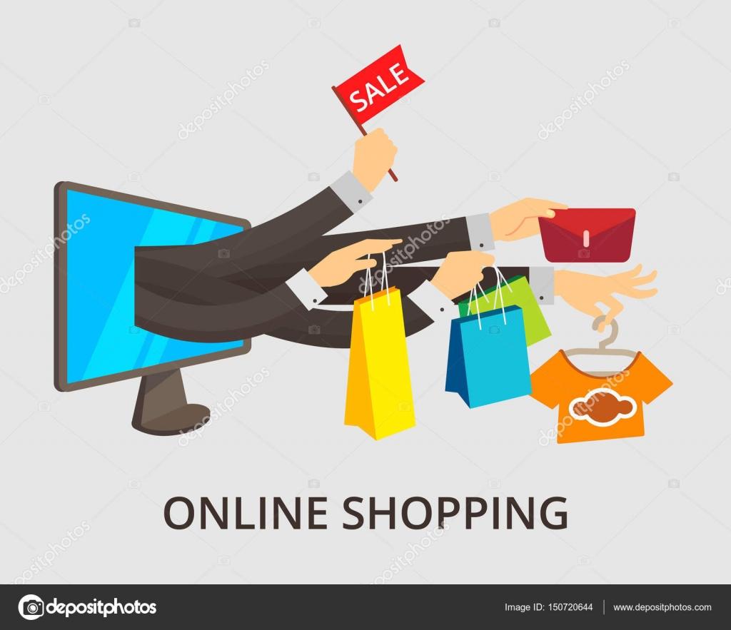 dise o minimalista del concepto de e commerce vector On diseno minimalista concepto