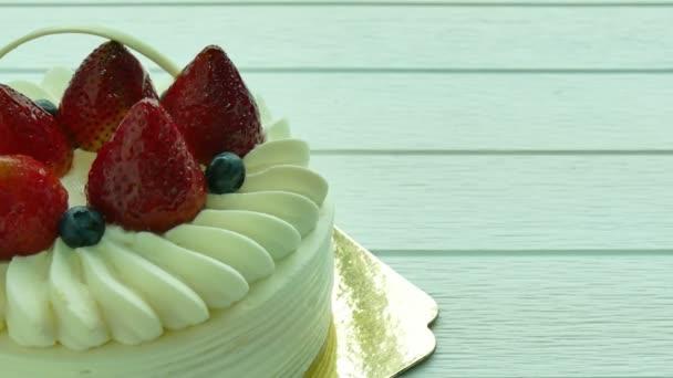 Torta a desszert, eper