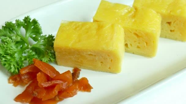leckere süße Eier, traditionelle japanische Küche