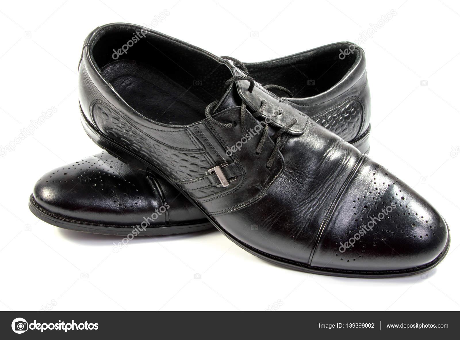 Fotos Aislados — Blanco En Negros Stock De Zapatos Hombres pqPxw7Yx