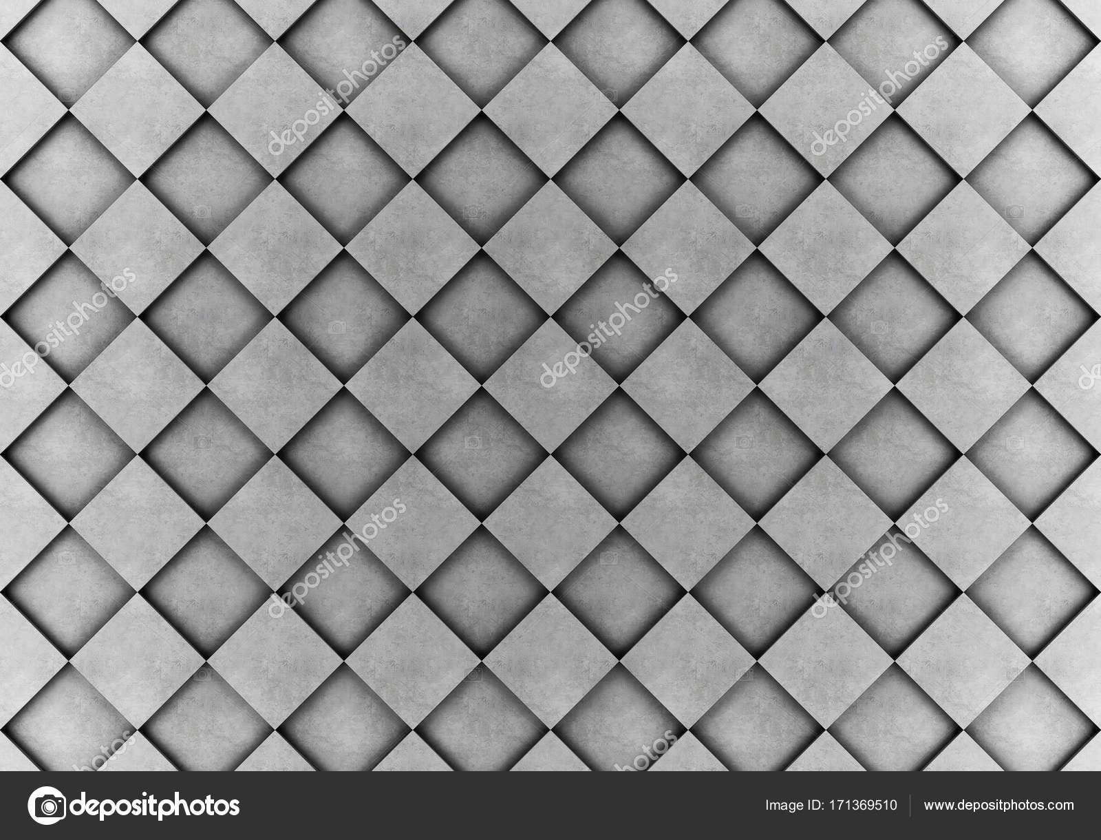 1bd217064 Stěny z betonových kostek v šachovnicový vzor — Stock Fotografie ...