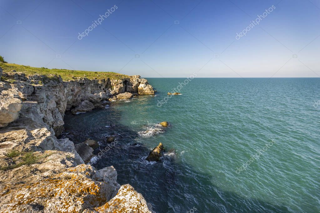 Amazing rocky coastline