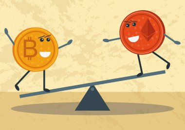 Bitcoin vs Etherum
