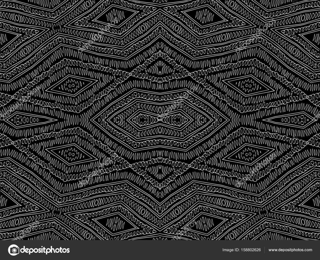 Textura de fundo tribal abstrato branco pretos