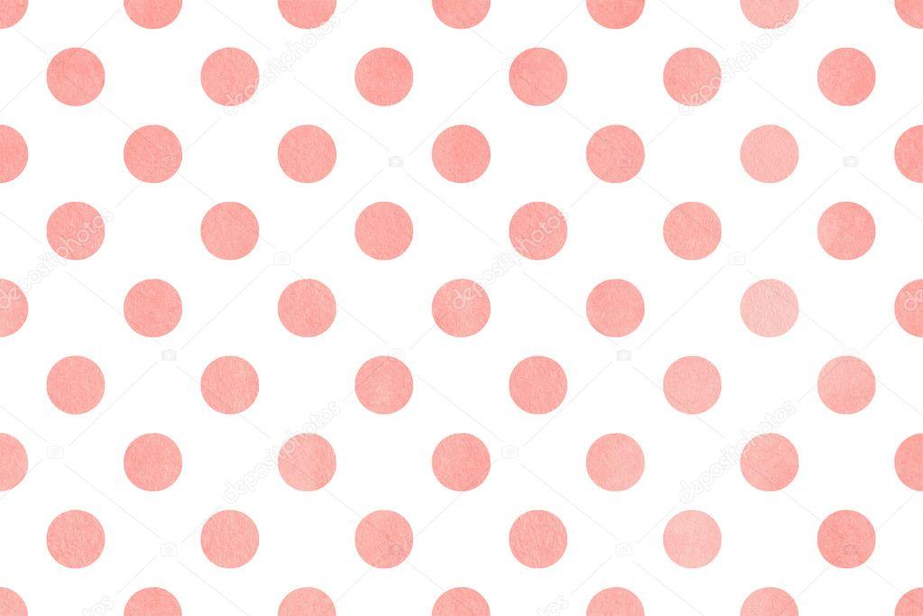 watercolor polka dot background   u2014 stock photo  u00a9 4