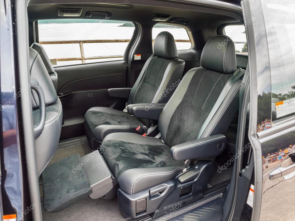 Toyota Previa 2016 Interior Seat – Stock Editorial Photo