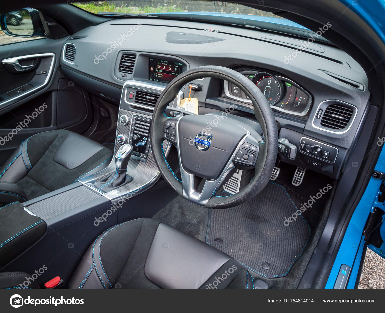 Volvo S60 2017 Interior U2014 Stock Photo