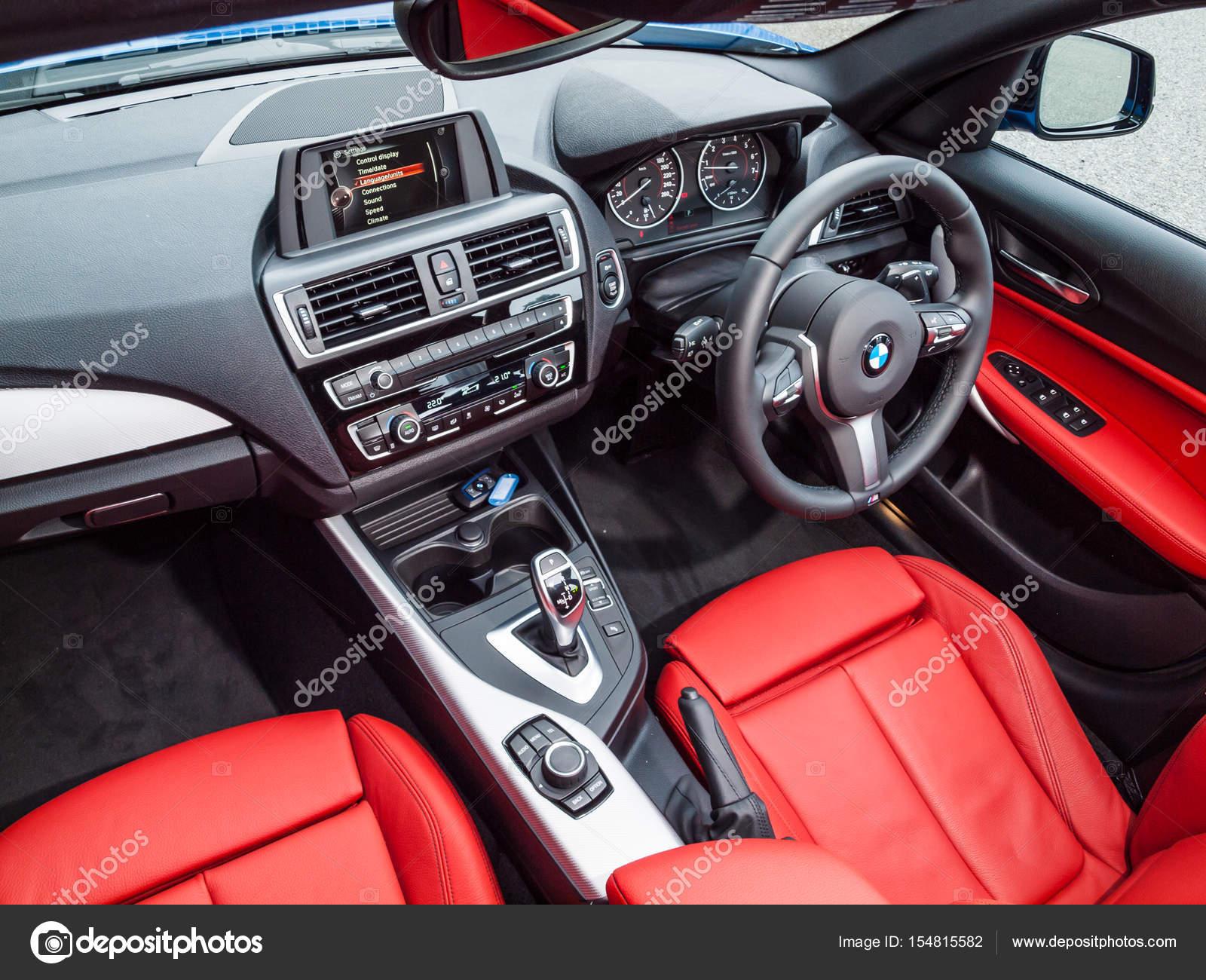 Bmw M140i 2017 Interior Stock Editorial Photo