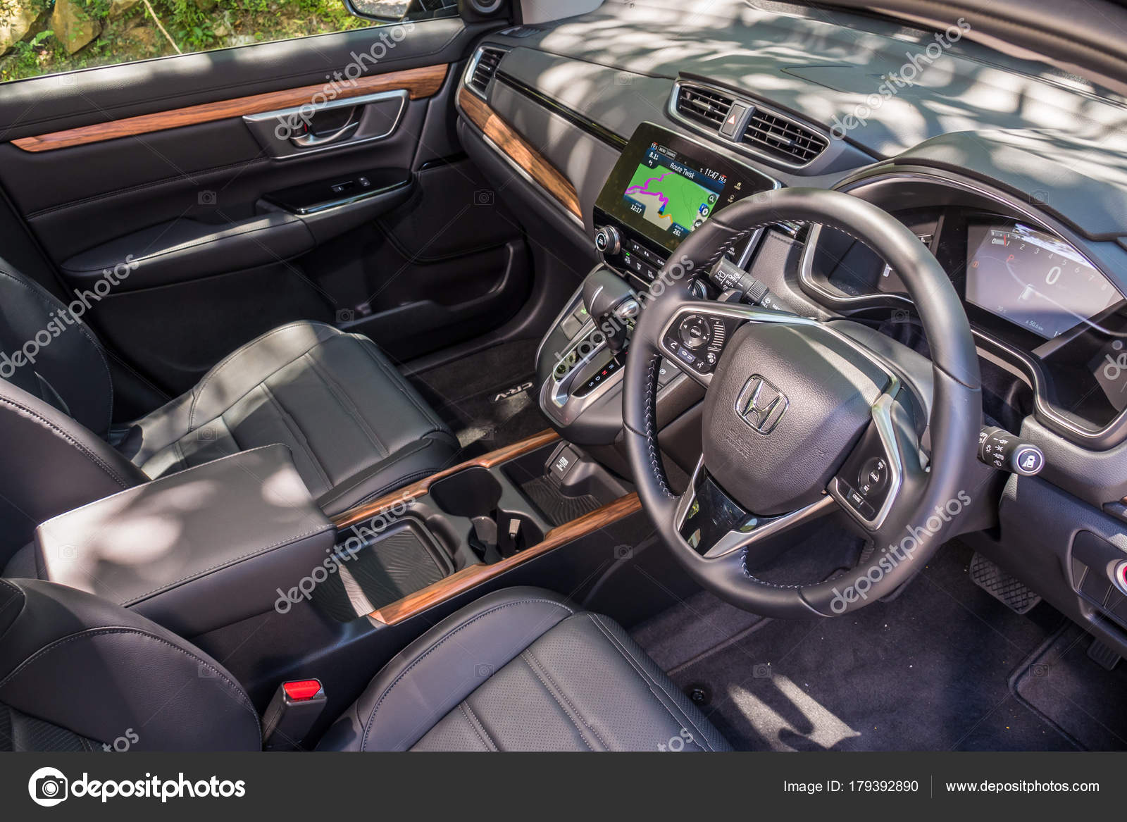 Crv 2017 Interior >> Honda Cr V 2017 Interior Stock Editorial Photo