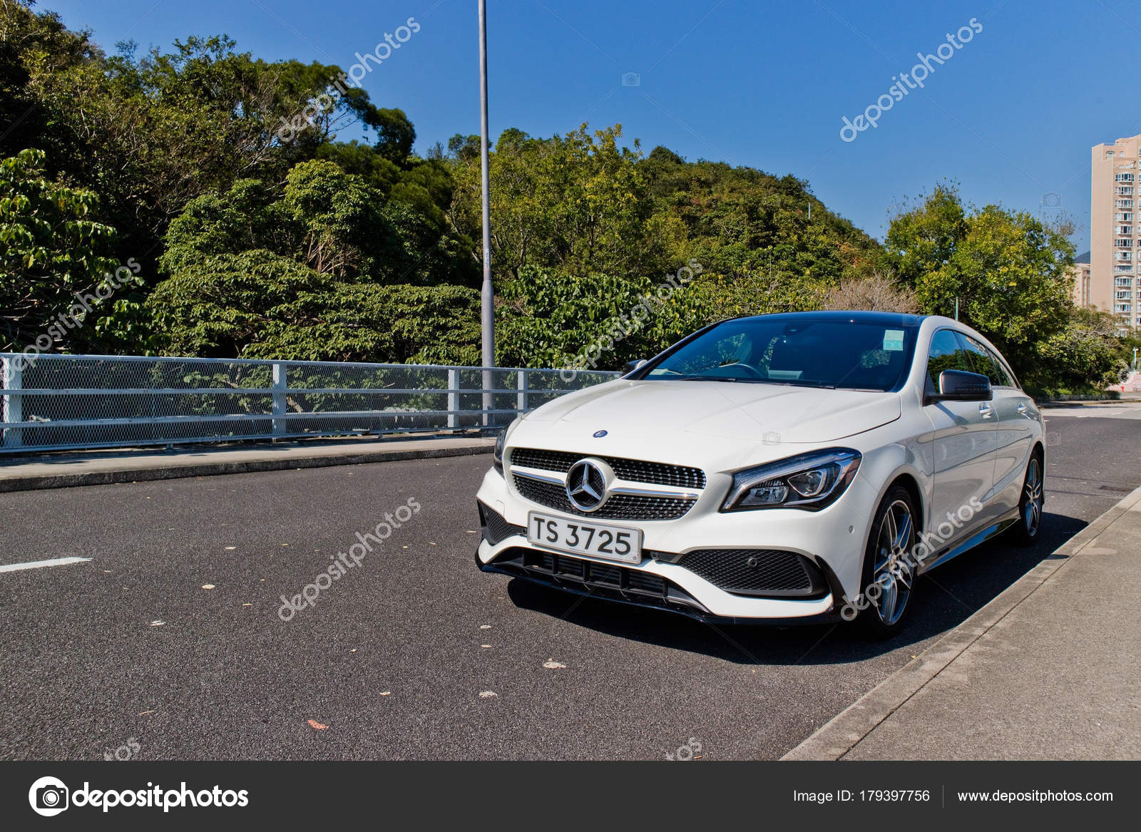 Mercedes-Benz CLA Shooting Brake 2017 Test Drive Day – Stock ...