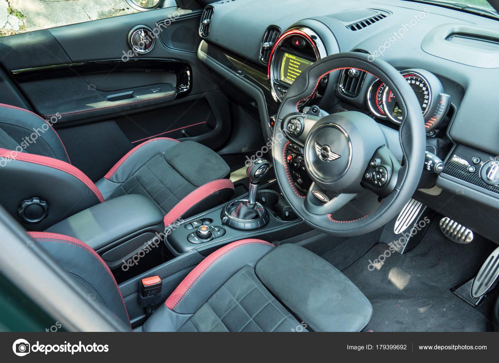 Mini Jcw Landsmann 2017 Interieur — Redaktionelles Stockfoto ...