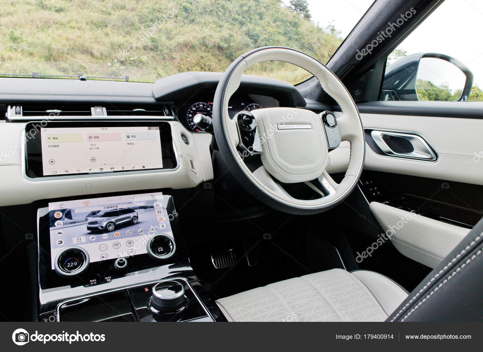 Range Rover Velar 2017 Interior – Stock Editorial Photo © teddyleung ...