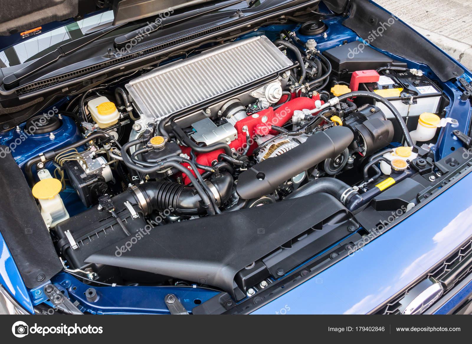 Subaru Wrx Sti 2017 Motor Redaktionelles Stockfoto C Teddyleung