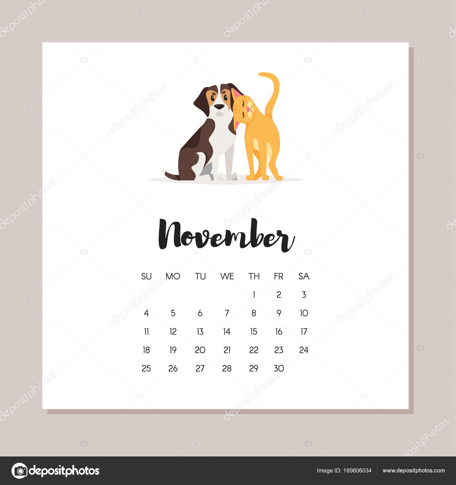 dog 2018 year calendar — Stock Vector © tkronalter9.gmail