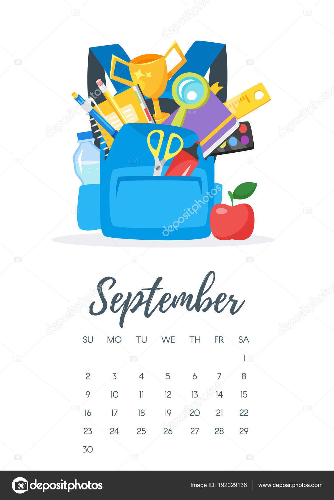 Calendario De Septiembre 2019 Para Imprimir Animado.Animado 16 De Septiembre Pagina De Calendario De Ano