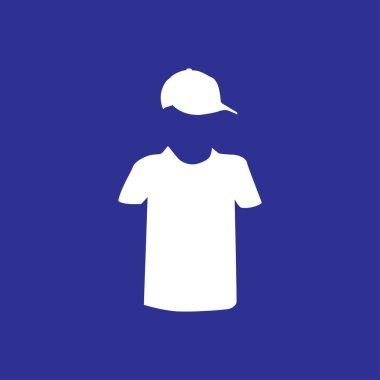 T shirt icon   illustration