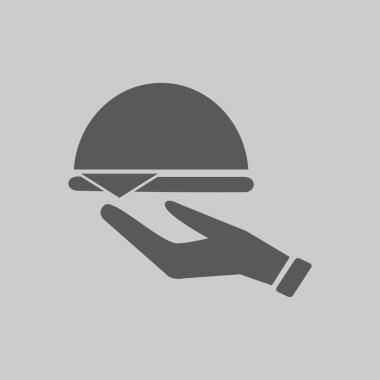 waiter icon sign