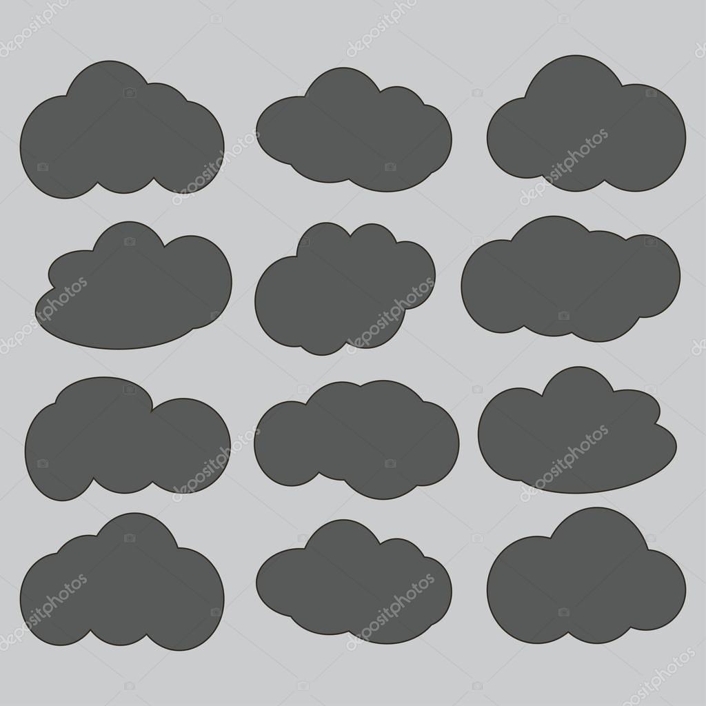 cloud  icon sign