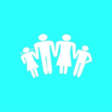 kids silhouette family